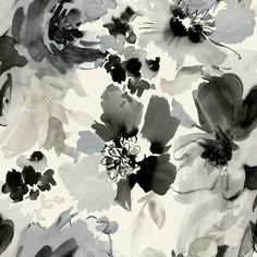 White, matte or pearlescent, is the perfect backdrop for these make-believe blossoms. The large blooms look like watercolors in translucent and opaque inks that blend beautifully in diverse color stories. Mix and match with Pop Dot or Watercolor Stripe.