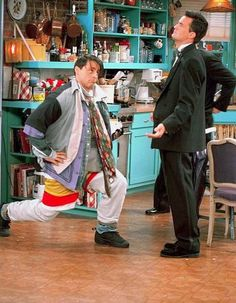 """Look at me--I'm Chandler! Could I BE wearing any more clothes?"""