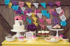 Lindas e diferentes decorações de mesa de doces!!