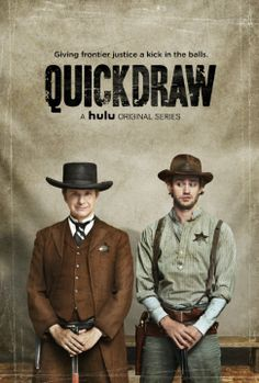 quickdraw--hulu original series---such a great comedy!