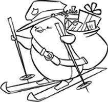 IMPRONTE D'AUTORE - STAMPING - PRODOTTI - TUTTO TIMBRI - 1588-Q Pinguino postino