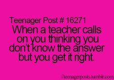 This happens in mr dodiers class all the time