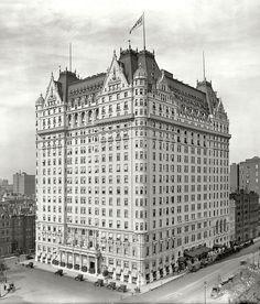 1912 El hotel Plaza.  Evolución de la ciudad de Nueva York, 1912 - 1913 .