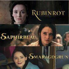 Rubinrot, Saphirblau & Smaragdgrün                                                                                                                                                                                 Mehr
