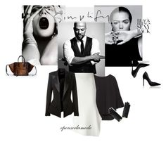 Designer Clothes, Shoes & Bags for Women Fashion Layouts, Alexandre Vauthier, Victoria Beckham, Polyvore Fashion, Zara, Shoe Bag, Black, Design, Women