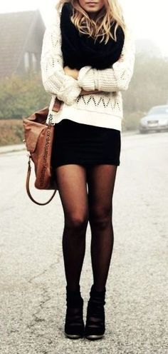 #street #style fall / black & white
