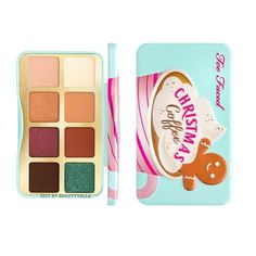 Too Faced Christmas, Makeup News, Christmas Coffee, Eyeshadow Palette, Product Launch, Dolls, Holiday, Baby Dolls, Vacations