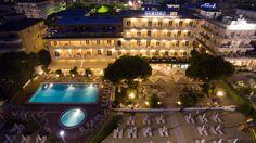 Foto dell'albergo dall'alto scattata da un nostro cliente con il suo drone