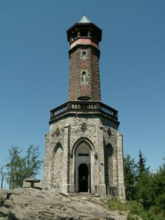 Galerie - Rozhledna Štěpánka (Rozhledna) • Mapy.cz Prague, Lookout Tower, Historical Architecture, Palaces, Czech Republic, Castles, Medieval, Buildings, Mansions