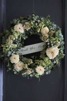 deuxR - Natural Flower - ドライフラワー教室・アレンジ販売・ワークショップ・アベイユフルール・蜜蝋花: 作品