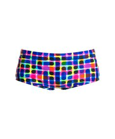 wide side trunk for larger sizes). Front lining and drawcord with Funky Trunks logo come standard. Made from Funky Trunks exclusive C-Infinity fabric, a Italian Boys Trunks, Wild Waters, Swimsuits, Swimwear, Gym Shorts Womens, Ink, Fabric, Collection, Fashion