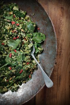 Superfood Green Tabouli : The Healthy Chef – Teresa Cutter Healthy Chef, Healthy Eating, Healthy Recipes, Healthy Meals, Fast Recipes, Savoury Recipes, Chef Recipes, Vegetarian Recipes, Raw Broccoli