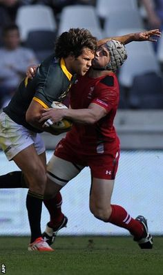 Wales beaten by South Africa after late penalty try - Rugby College South Africa Rugby, Wales Rugby, Australian Football, Visit Wales, Cows, Victorious, Beats, Soccer, College