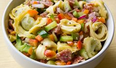 Tortellini & Veggie Salad with Parmesan Vinaigrette | Trader Joe's