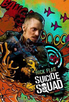 Esquadrão Suicida ganha cartazes inspirados nos quadrinhos | Omelete Jai Courtney, Batman Vs, Superman, Jared Leto, Adam Beach, Jay Hernandez, Deadshot, Margot Robbie, Will Smith