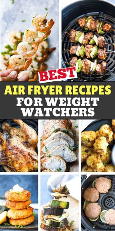 Amazing list of BEST Weight watchers air fryer recipes for beginners and for advance users. We love this Keto low carb recipes, from kebabs and shrimp to salmon patties, healthy vegetables , buffalo cauliflower, turkey breast, cornish hen and more! Low in smart points, healthy oil free and easy and quick to make #weightwatchers #weightwatchersrecipes #airfryerrecipes #airfryerweightwatchers #smartpoints #lowcarb #keto