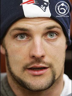 Wes Welker ~ he looked so much better in Patriots blue than donkey dork uh, I mean broncos orange!