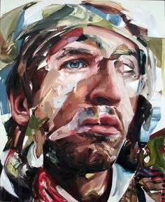 Jenny Saville- I love her use of distortion and making the idea of grotesque while being able to portray painterly and gestural qualities...