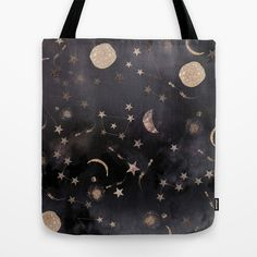 Constellations  Tote Bag by Nikkistrange - $22.00