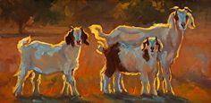 We Are Family by Cheri Christensen Oil ~ 6 x 12