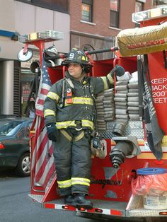 Firefighter Photography | Proud Firefighter, a photo from New York, Northeast | TrekEarth