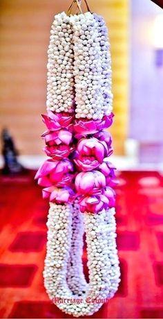 Flower garlands for indian weddings wedding decorations wedding garland flower garland wedding wedding garlands . flower garlands for indian Wedding Hall Decorations, Desi Wedding Decor, Marriage Decoration, Wedding Mandap, Wedding Draping, Wedding Receptions, Elegant Wedding, Wedding Events, Wedding Ceremony