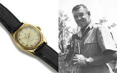 """CLARK GABLE PERSONAL WRISTWATCH Sold for $28,750 at the TCM / Bonhams """"What Dreams Are Made Of"""" Auction November 23, 2013"""