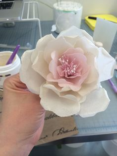 Wafer Paper Fantasy Flower