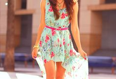 Love this!! #summer #fashion #style #design #photography #dress #floral #pretty
