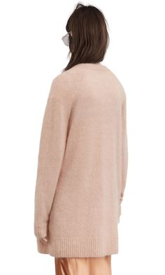 Raya Sh Mohair, Pink Melange, 1200x 004 Acne Studios, High Neck Dress, Turtle Neck, Sweater, Pink, How To Wear, Fashion, Turtleneck Dress, Moda