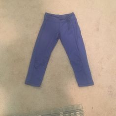 Very pretty royal blue color. Super comfy and in great condition! Worn a few times. Royal Blue Leggings, Royal Blue Color, Joggers, Track, Comfy, Times, Pretty, Pants, Things To Sell