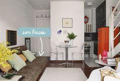 Sofás para salas pequenas
