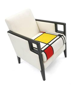 Mondrian Armchair by Knightbridge shown with Mondrian upholstery