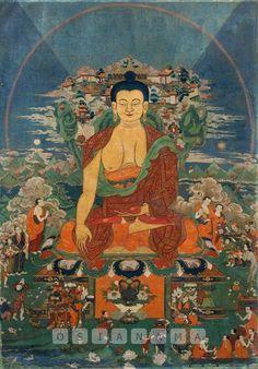 Mount Meru and Shakyamuni Buddha Mount Meru, Tantra Art, Cultural Artifact, Popular Art, Buddhist Art, Museum Collection, Religious Art, Buddha, Sculptures