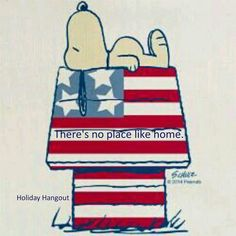 Snoopy/red white and blue dog house Peanuts Cartoon, Peanuts Snoopy, Happy 4 Of July, Fourth Of July, Snoopy Und Woodstock, Snoopy Quotes, Peanuts Quotes, Joe Cool, Disney
