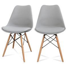 Lot de 2 chaises design Ormond DSW_ DRAWER