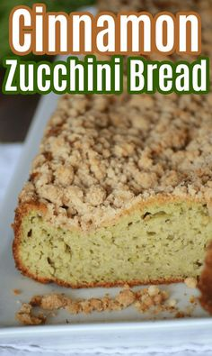 Cinnamon Zucchini Bread Recipe - Zucchini bread is a great way to use up fresh zucchini, either from the   garden or the grocery store. Zucchini is a great savory side dish but it   also makes an incredibly moist and delicious sweet bread! Let me show   you how to make my favorite cinnamon zucchini bread! Bread Maker Recipes, Easy Bread Recipes, Best Dessert Recipes, Coffee Recipes, Dessert Ideas, Breakfast Recipes, Dinner Recipes, Easy Homemade Recipes, Homemade Desserts