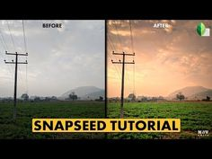 Snapseed, Vignettes, Landscapes, Android, Pop, Orange, Iphone, Youtube, Paisajes