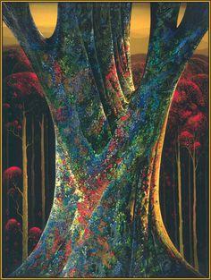 Eyvind Earle - Majestic Tree