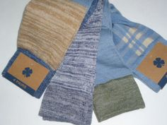 NWT 4 Pairs LUCKY BRAND Crew Socks Blue Plaid Green Tan Womens Mens 13-16 #LuckyBrand #Dress