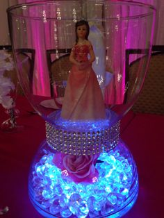 Quinceañera centerpiece                                                                                                                                                                                 More