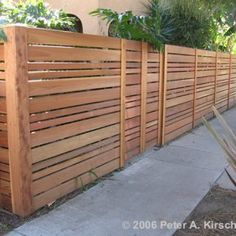 DIY wooden fence idea :)