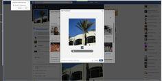 faceboook edytowanie thumbnail, kadrowanie , dostosowanie zdjęcia, wewnętrzne korekty
