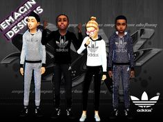 emagin360's Girls & Boys Adidas Outfits