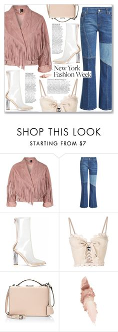 """What to Wear to NYFW"" by myduza-and-koteczka ❤ liked on Polyvore featuring Topshop, Alexander McQueen, Puma, Mark Cross, Anja and Maybelline"