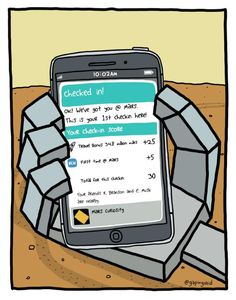 How many points did the Curiosity Rover win at the checkin in Mars?