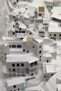 Ian Athfield - model of his own home