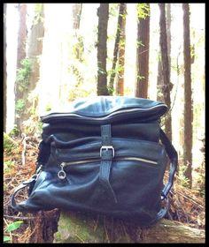 Well Made Pebbled Leather Convertible Backpack Messenger Travel Trek City Bag #Unbranded #BackpackMessengerBagShoulderBag