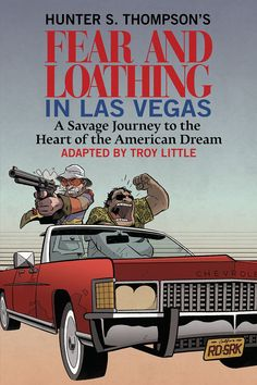 Fear and Loathing cover for BB. No! Ralph Steadman, anyone? Anyone?!