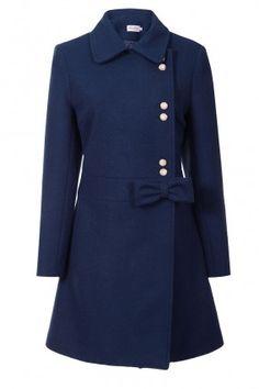Carnaby Coat (Midnight Blue)